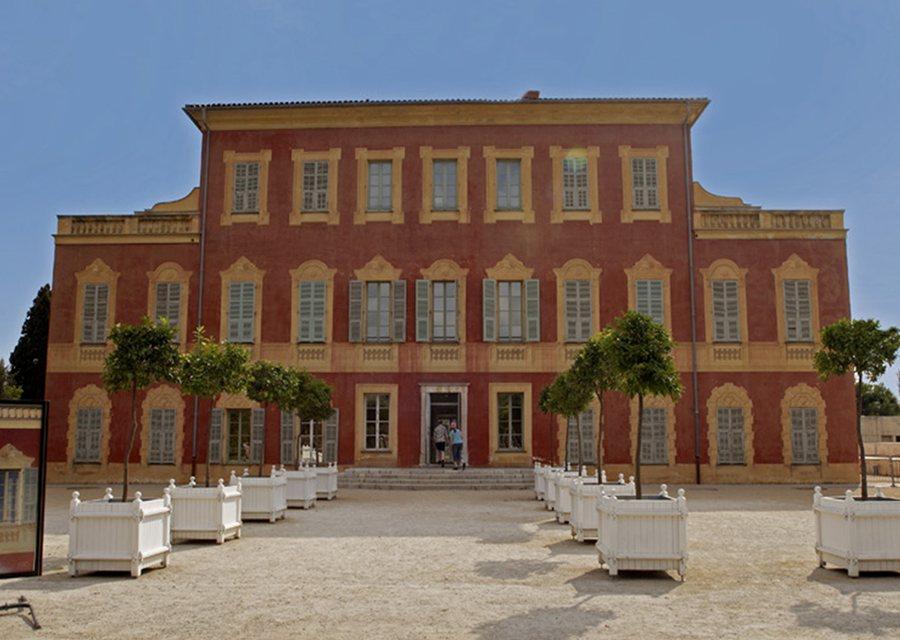 Musée Matisse in Nice (voorgevel)