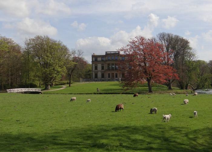 Foto van het landgoed Elswout in Overveen