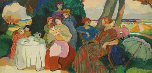 Schilderij van Marinot op de tentoonstelling in het Singer Laren