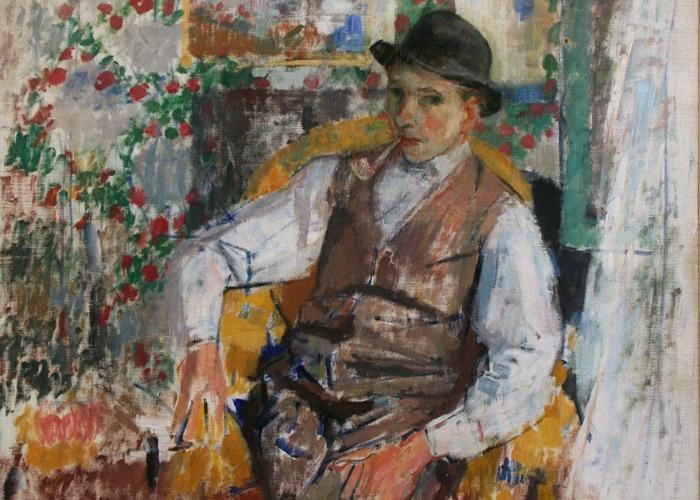Rik Wouters, Portret van de beeldhouwer Ernest Wijnant, 1914, Museum Brugge