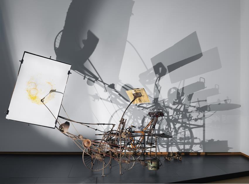 Jean Tinguely, Le Cyclograveur, 1960, coll. Kunsthaus Zurich. Foto Gert Jan van Rooij
