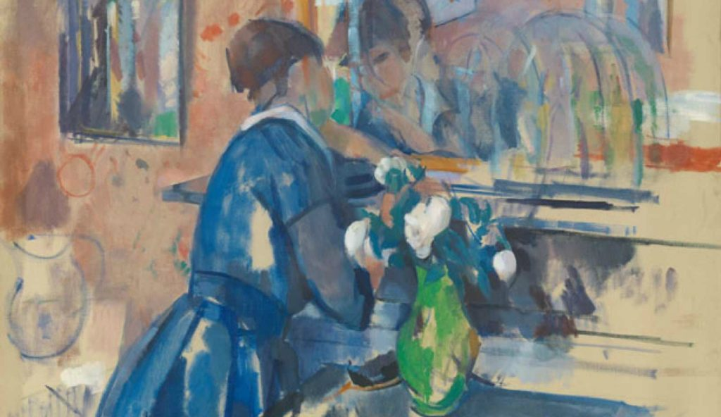 Schilderij van Rik Wouters lezing en excursie door van Artetcetera naar de tentoonstelling van het oeuvre van Rik Wouters in Brussel