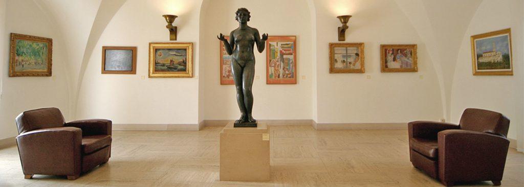 Afbeelding van het Musée de l'Annonciade te St Tropez
