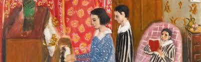 Matisse. La Lecon de Piano, détail