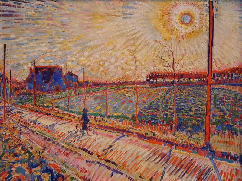 Schilderij van Jan Sluijters, Zon in laren