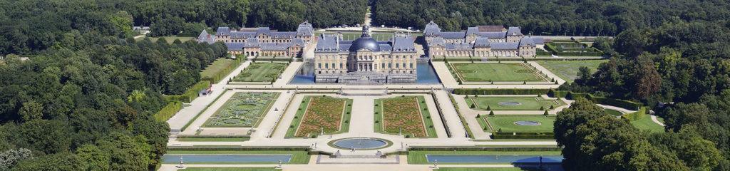 France, Seine-et-Marne (77), Maincy, le château de Vaux-le-Vicomte (vue aérienne) // France, Seine-et-Marne, Maincy, the castle of Vaux-le-Vicomte (aerial view)